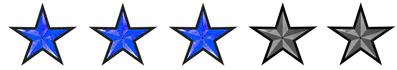 3 stars FTR